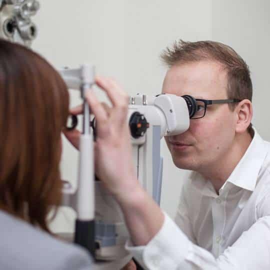 Glaucoom onderzoek Zien Optiek Putten